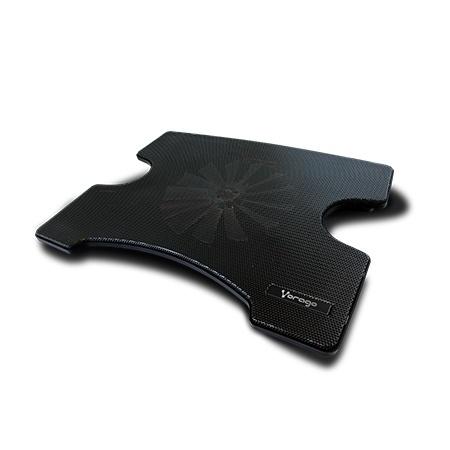 Vorago Base Enfriadora Cooler Pad 102 para Laptops hasta 15'', con 1 Ventilador, Negro