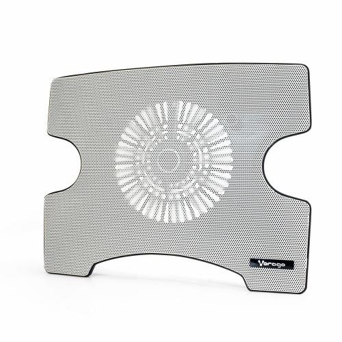 Vorago Base Enfriadora Cooler Pad 102 para Laptops hasta 15'', con 1 Ventilador, Blanco