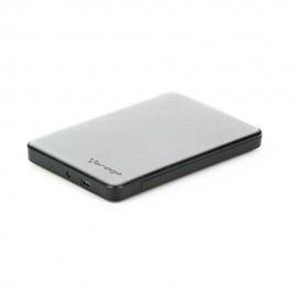 Vorago Gabinete de Disco Duro HDD-102, 2.5'', 2TB, SATA - USB 2.0, Plata