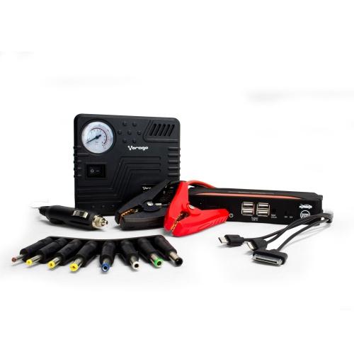 Vorago Kit de Emergencia JS-500, 4x USB, 12.000mAh