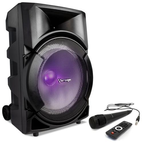 Vorago Bafle KSP-401, Bluetooth, Inalámbrico, 50W RMS, USB 2.0, Negro