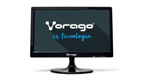 Monitor Vorago LED-W15-200 15.6'', Widescreen, Negro, sin Soporte VESA