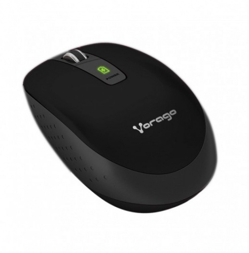 Mouse Vorago Óptico MO-303, Inalámbrico, USB, 1000DPI, Negro