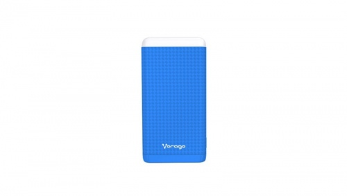 Cargador Portátil Vorago Power Bank PB-400, 10.000mAh, Azul