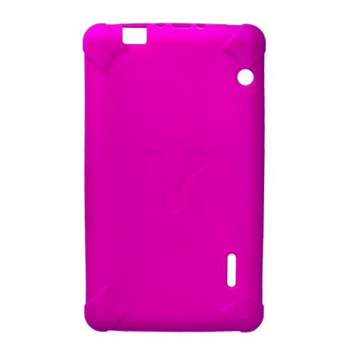 Vorago Funda de Goma TC-124 para Tablet 7'' Rosa