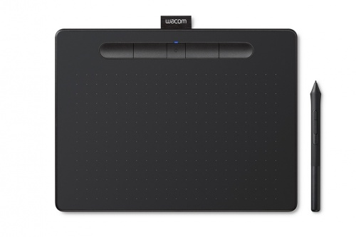 "Tableta Gráfica Wacom Intuos S 7"", 152 x 95mm, Inalámbrico, Bluetooth, Negro"