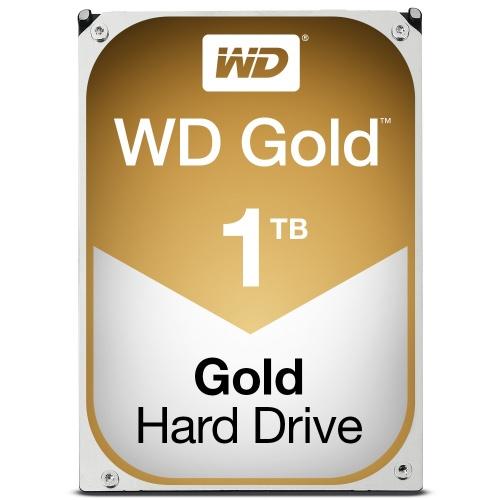 Disco Duro Interno Western Digital WD Gold 3.5'', 1TB, SATA III, 6 Gbit/s, 7200RPM, 128MB Caché