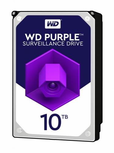Disco Duro para Videovigilancia Western Digital Purple 3.5'', 10TB, 6 Gbit/s, 256MB