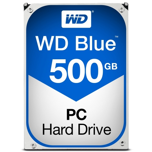 Disco Duro Interno Western Digital WD Blue 3.5'', 500GB, SATA III, 6 Gbit/s, 7200RPM, 32MB Cache