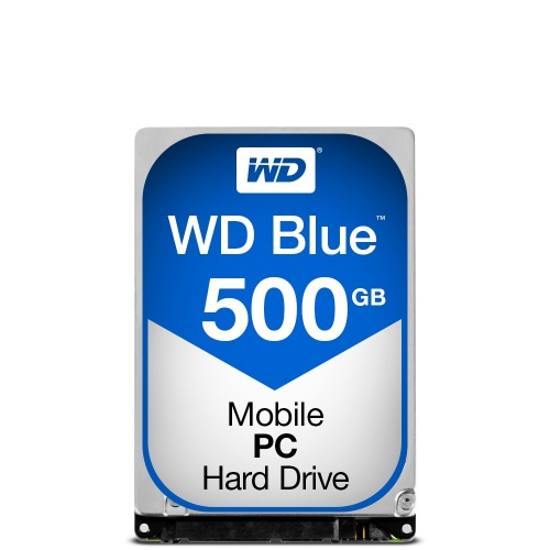 Disco Duro para Laptop Western Digital WD Blue 2.5'', 500GB, SATA III, 6 Gbit/s, 5400RPM, 16MB Cache
