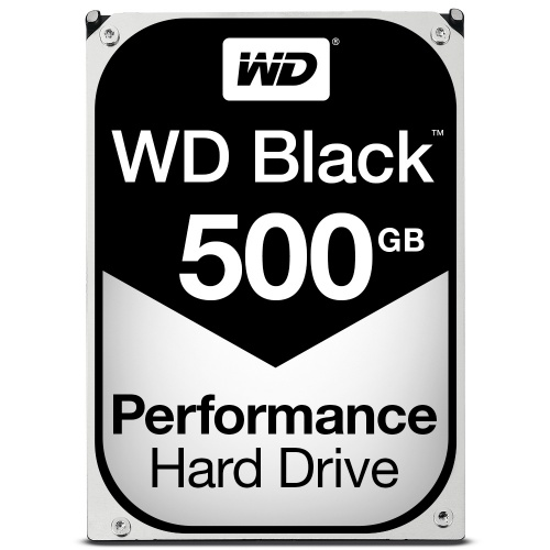 Disco Duro Interno Western Digital WD Black Series 3.5'', 500GB, SATA III, 6 Gbit/s, 7200RPM, 64MB Cache