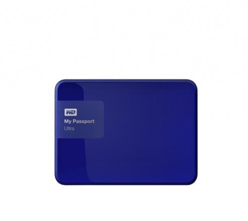 Disco Duro Externo Western Digital My Passport Ultra 2 5'', 4TB, USB 3 0,  Azul - para Mac/PC