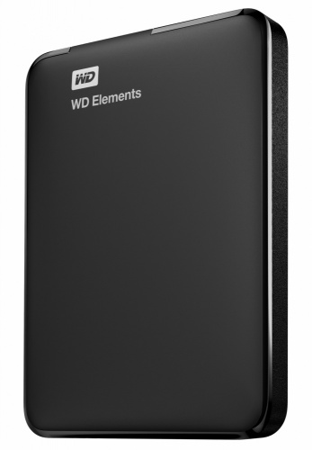 Disco Duro Externo Western Digital WD Elements Portátil 2.5'', 1TB, USB 3.0, Negro - para Mac/PC