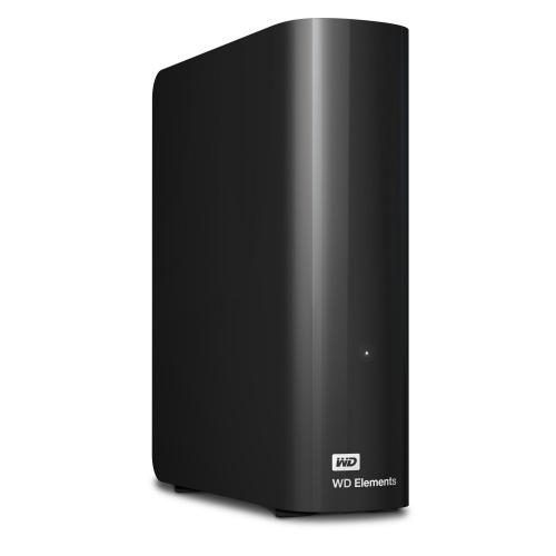 Disco Duro Externo Western Digital WD Elements Desktop 3.5'', 4TB, USB 3.0, Negro - para Mac/PC