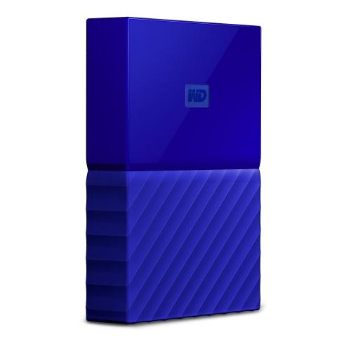 Disco Duro Externo Western Digital WD My Passport, 2TB, USB 3.0, Azul