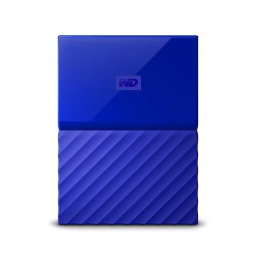 Disco Duro Externo Western Digital WD My Passport 2.5'', 1TB, USB 3.0, Azul