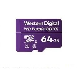 Memoria Flash Western Digital WD Purple SC QD101, 64GB MicroSDHC Clase 10