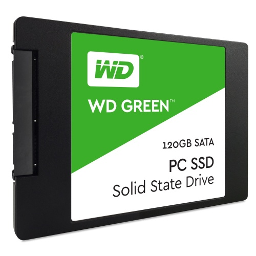 SSD Western Digital Green, 120GB, SATA III, 2.5'', 7mm