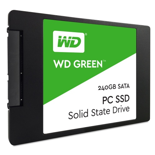 SSD Western Digital Green, 240GB, SATA III, 2.5'', 7mm