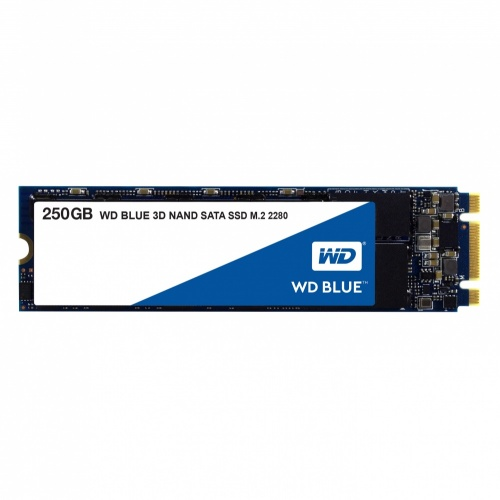SSD Western Digital WD Blue 3D NAND, 250GB, M.2