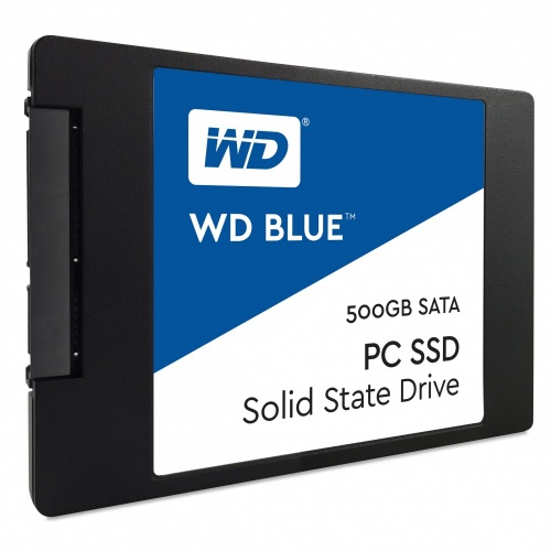 SSD Western Digital Blue, 500GB, SATA III, 2.5'', 7mm