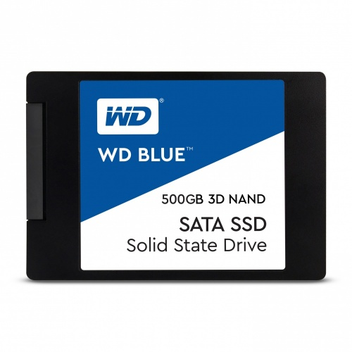 SSD Western Digital Blue 3D NAND, 500GB, SATA III, 2.5'', 7mm