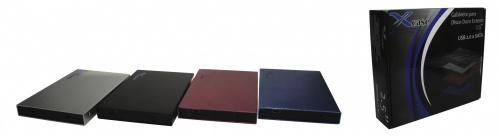 X-Case Gabinete de Disco Duro CASE2520PL, 2.5'', SATA, USB 2.0, Plata
