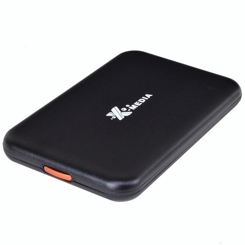 X-Media Gabinete de Disco Duro EN2251-BK, 2.5'', SATA, USB 2.0, Negro