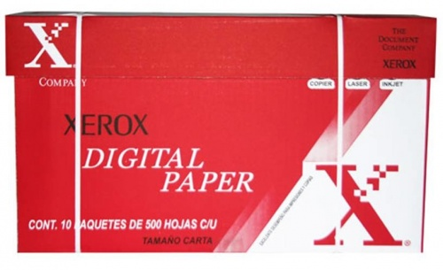 Xerox Papel Bond 75g/m², 10 x 500 Hojas de Tamaño Carta