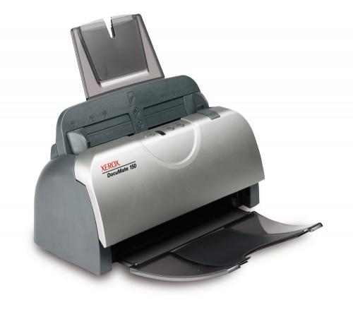 Scanner Xerox Documate 150, 600DPI, Escáner Color, USB 2.0, Gris/Blanco
