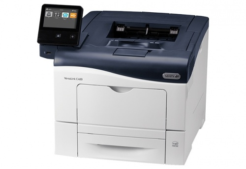 Xerox VersaLink C400, Color, Láser, Inalámbrico, Print (incluye 1 Bandeja Estándar de 700 Hojas)