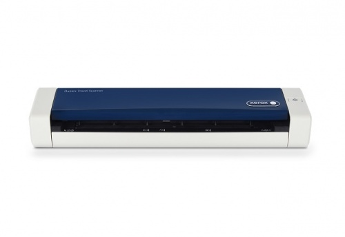 Scanner Xerox Duplex Travel Scanner, 600DPI, Color, USB 2.0, Azul/Blanco