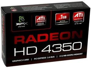 Tarjeta de Video XFX Radeon HD 4350, 512MB 64-bit GDDR2, PCI Express 2.0