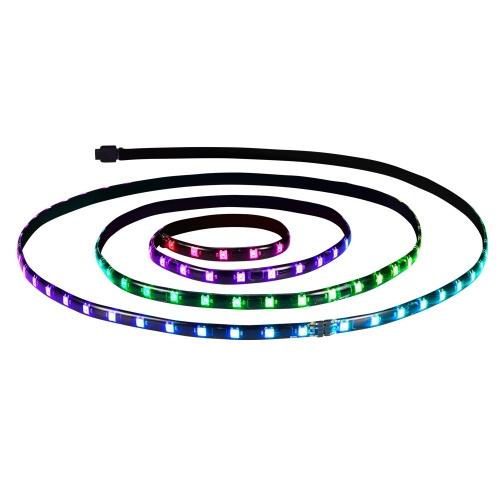 XPG Tiras LED con Control Prime ARGB, 60cm x 10mm, Azul/Verde/Amarillo/Rosa