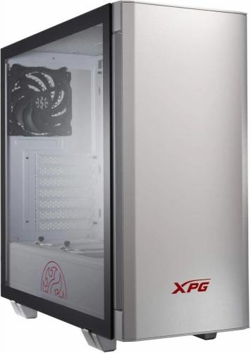 Gabinete XPG INVADER con Ventana, Midi-Tower, ATX/Micro-ATX/Mini-ITX, USB 3.2, sin Fuente, Blanco