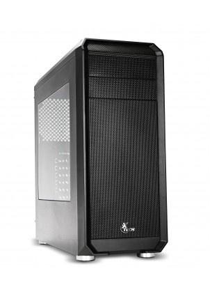 Gabinete Xtech Delirium con Ventana, Midi-Tower, ATX/ITX/Micro-ATX, USB 2.0/3.1, sin Fuente, Negro