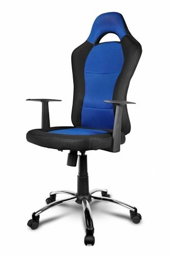Xtech Silla Gamer Drakon, hasta 110Kg, Negro/Azul