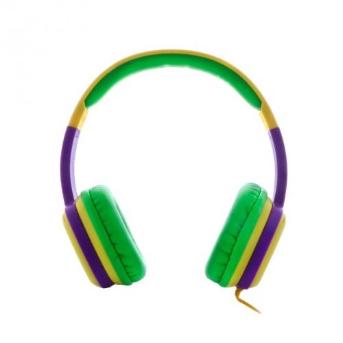Xtech Audífonos XTH-350YL, Alámbrico, 1 Metro, 3.5mm, Verde