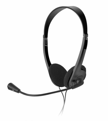 Xtech Diadema con Micrófono XTS-220, Alámbrico, 1.8 Metros, 3.5mm, Negro
