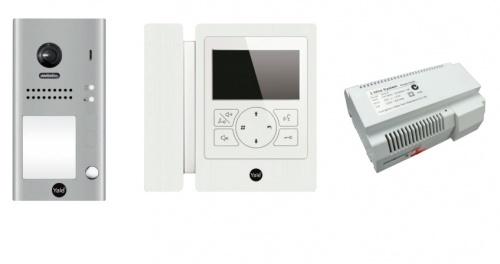 Yale Kit Videoportero 80126 - incluye Frente de Calle y Monitor