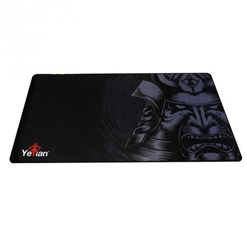 Mousepad Gamer Yeyian Krieg 1080, 80x40cm, Grosor 3mm, Negro