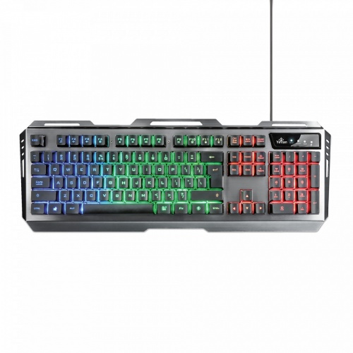 Kit Gamer de Teclado y Mouse Phoenix 3000, Alámbrico, USB, Negro