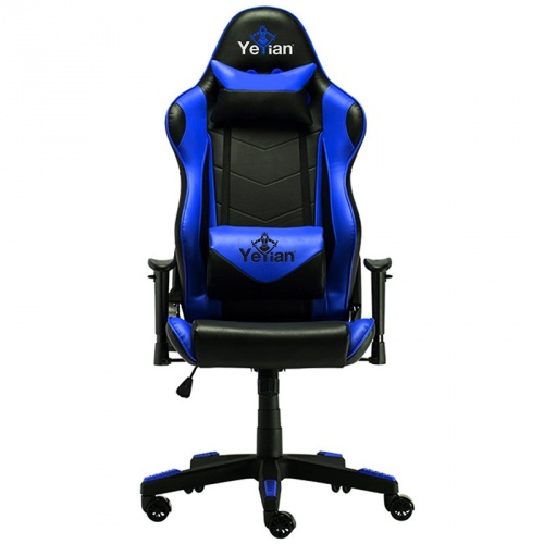 Yeyian Silla Gamer Cadira 1150, hasta 150Kg, Negro/Azul