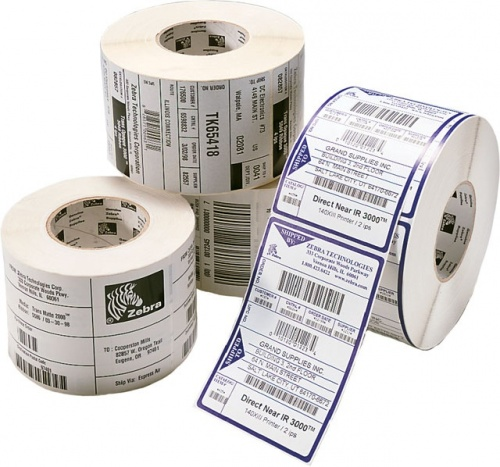 Zebra  Etiquetas de Impresora Z-Select 4000D 1 x 3'', 840 Etiquetas