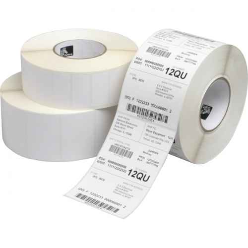Zebra Z-Select 4000D Rollo de Etiquetas de 4'' x 1'', 2340 Etiquetas, Blanco