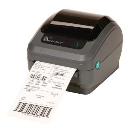 Zebra GK420d, Impresora de Etiquetas, Térmica Directa, 203 x 203DPI, USB, Ethernet, Negro