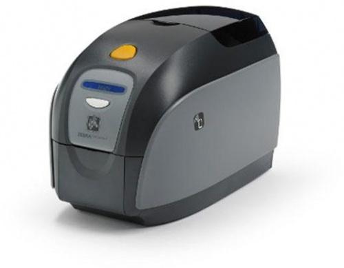Zebra ZXP1 Impresora para Credenciales, 300 x 300 DPI, USB 2.0, Negro/Gris