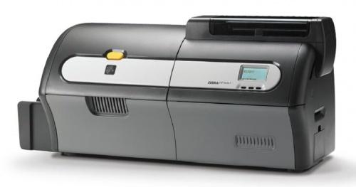 Zebra ZXP7, Impresora de Credenciales, 300 x 300 DPI, Doble Cara, USB 2.0, Ethernet,  Kit de Inicio de Medios, Negro