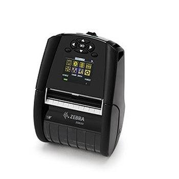 Zebra ZQ620, Impresora de Etiquetas, Térmica Directa, 203 x 203DPI, WiFi, Bluetooth, Serial, USB, Negro