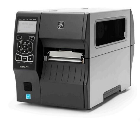 Zebra ZT410, Impresora de Etiquetas, Térmica Directa, Serial, 203 x 203 DPI, Negro/Gris